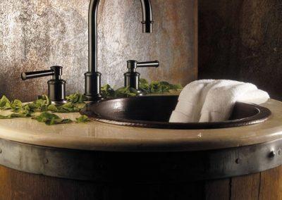 California-Faucets-Miramar-Series-Lever-Handle-Bronze