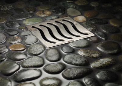 California-Faucets-Wave-Pattern-Drain