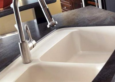 Corian-LavaRock-Double-Sink