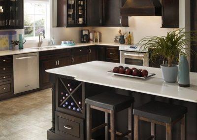 Silestone-Kitchen-Cocina-Quartz-Cuarzo-Yukon-blanco
