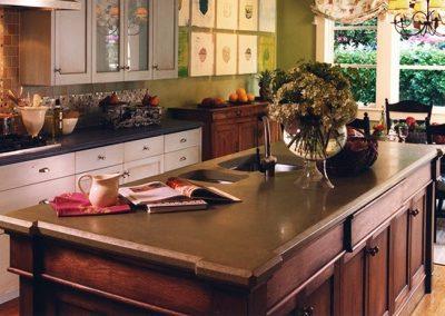 Sonoma-Cast-Stone-Concrete-Island-Traditional-Design