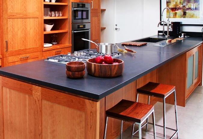 Sonoma Cast Stone Santa Monica Kitchen